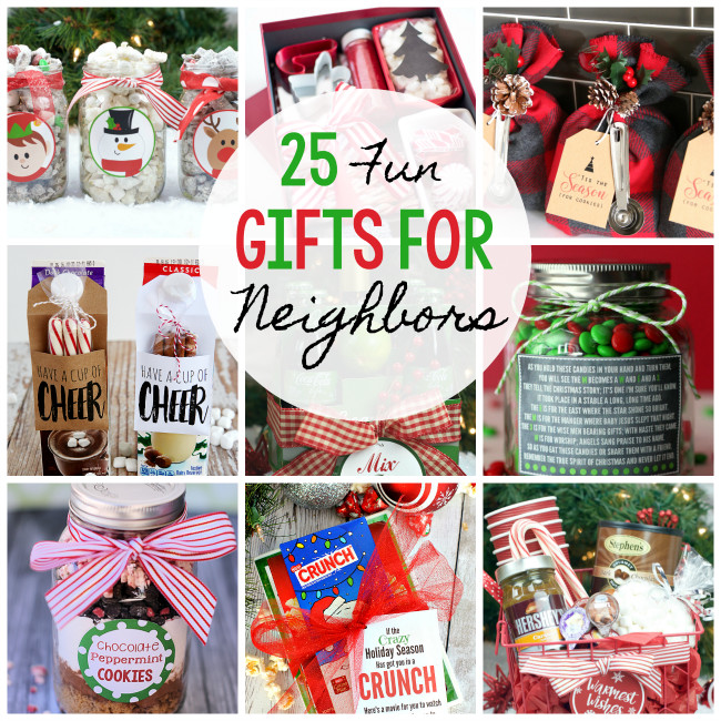 Best ideas about Top Ten Gift Ideas For Neighbors . Save or Pin 25 Fun & Simple Gifts for Neighbors this Christmas Now.