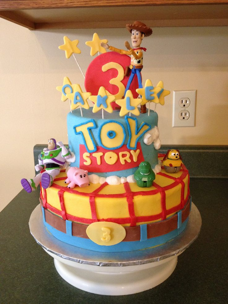 Best ideas about Toy Birthday Cake . Save or Pin Toy Story Birthday Cake for Oakley Now.