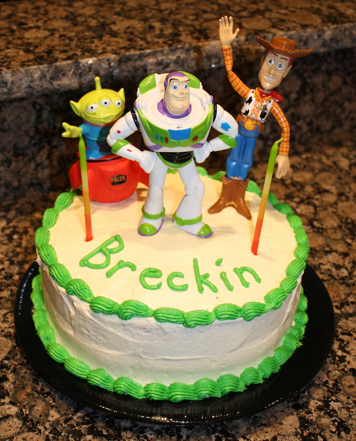 Best ideas about Toy Birthday Cake . Save or Pin Living and Dyeing Under the Big Sky Toy Story Birthday Cake Now.