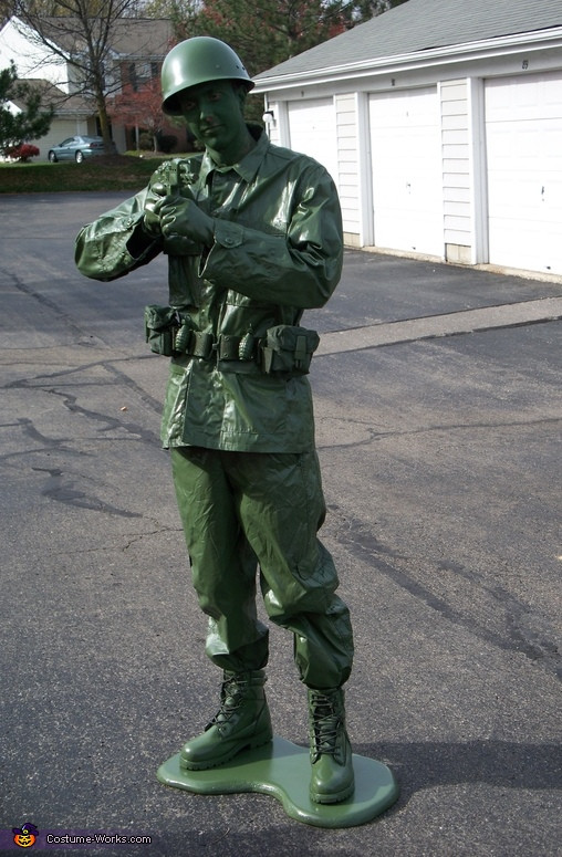 Best ideas about Toy Soldier Costume DIY . Save or Pin DIY Toy Sol r Costume Now.