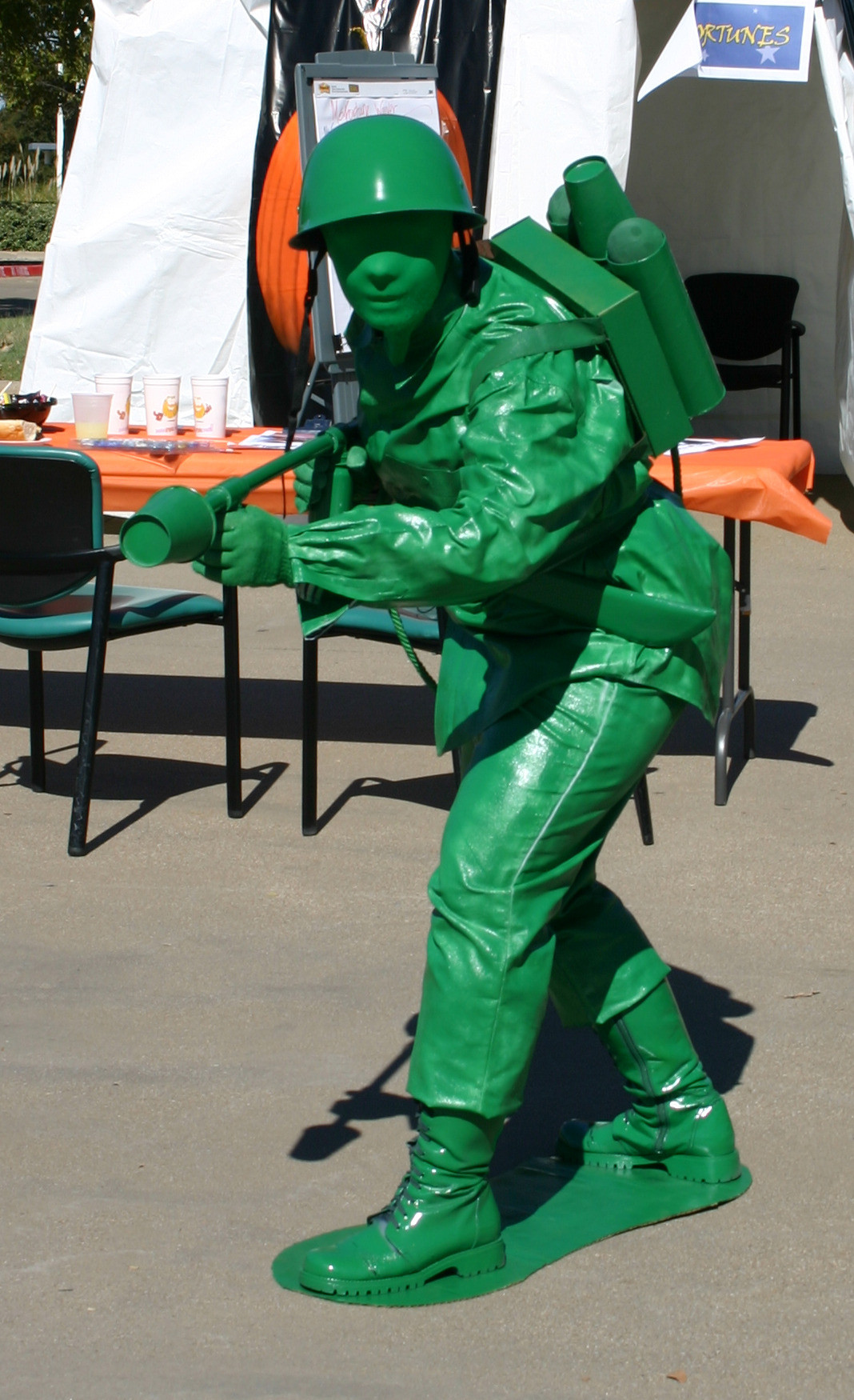 Best ideas about Toy Soldier Costume DIY . Save or Pin Plastic Green Toy Sol r with Flamethrower Costume 9 Now.