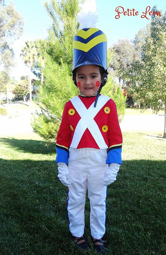 Best ideas about Toy Soldier Costume DIY . Save or Pin Items similar to Christmas Toy Sol r Costume nutcracker Now.