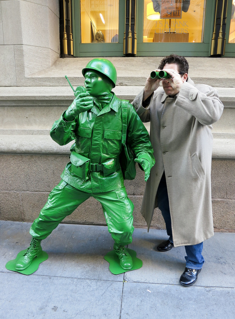 Best ideas about Toy Soldier Costume DIY . Save or Pin Here s a Dude in a Plastic Toy Green Army Sol r Costume Now.