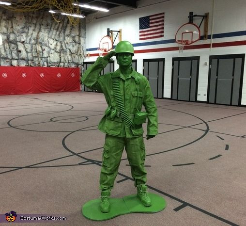 Best ideas about Toy Soldier Costume DIY . Save or Pin Plastic Toy Sol r Halloween Costume Contest at Costume Now.