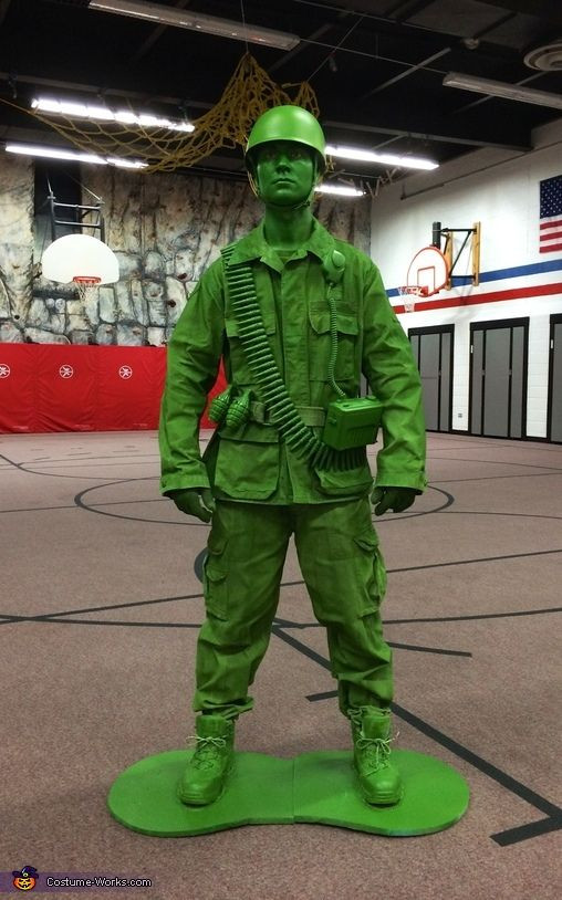 Best ideas about Toy Soldier Costume DIY . Save or Pin 25 best ideas about Plastic toy sol rs on Pinterest Now.
