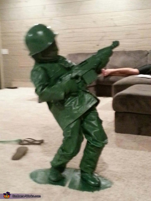 Best ideas about Toy Soldier Costume DIY . Save or Pin Toy Sol r DIY Costume Idea for Boys 2 2 Now.