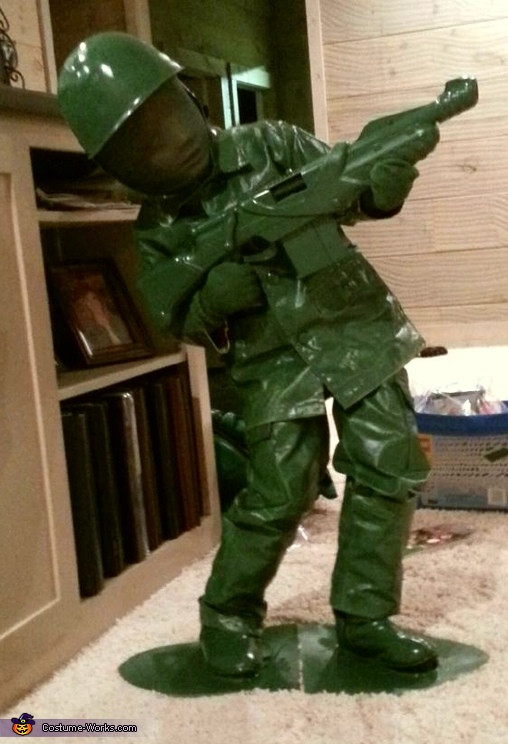 Best ideas about Toy Soldier Costume DIY . Save or Pin Toy Sol r DIY Costume Idea for Boys Now.