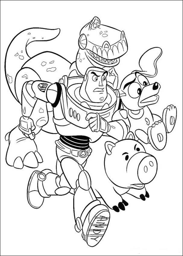 Best ideas about Toy Story Free Printable Coloring Pages . Save or Pin Free Printable Toy Story Coloring Pages For Kids Now.