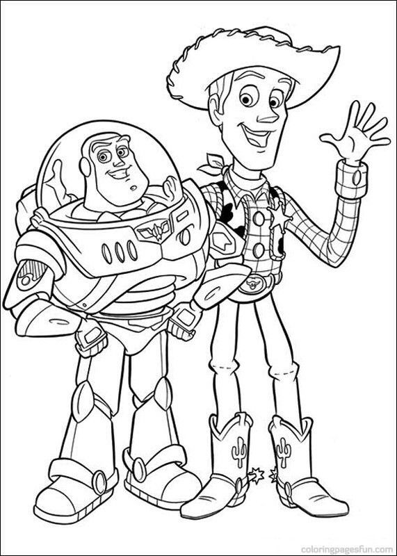 Best ideas about Toy Story Free Printable Coloring Pages . Save or Pin Toy Story Coloring Pages 42 Free Printable Coloring Now.