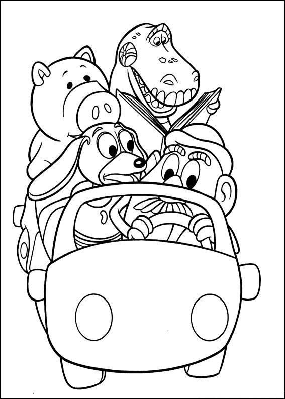 Best ideas about Toy Story Free Printable Coloring Pages . Save or Pin Toy Story Characters Coloring Pages Free Printable Now.