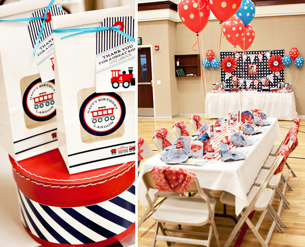 Best ideas about Train Birthday Decorations . Save or Pin train Now.