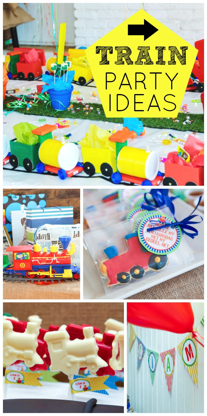 Best ideas about Train Birthday Decorations . Save or Pin Best 20 2nd Birthday Cakes For Boys ideas on Pinterest Now.