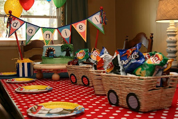 Best ideas about Train Birthday Decorations . Save or Pin Train Party Ideas Collection Moms & Munchkins Now.