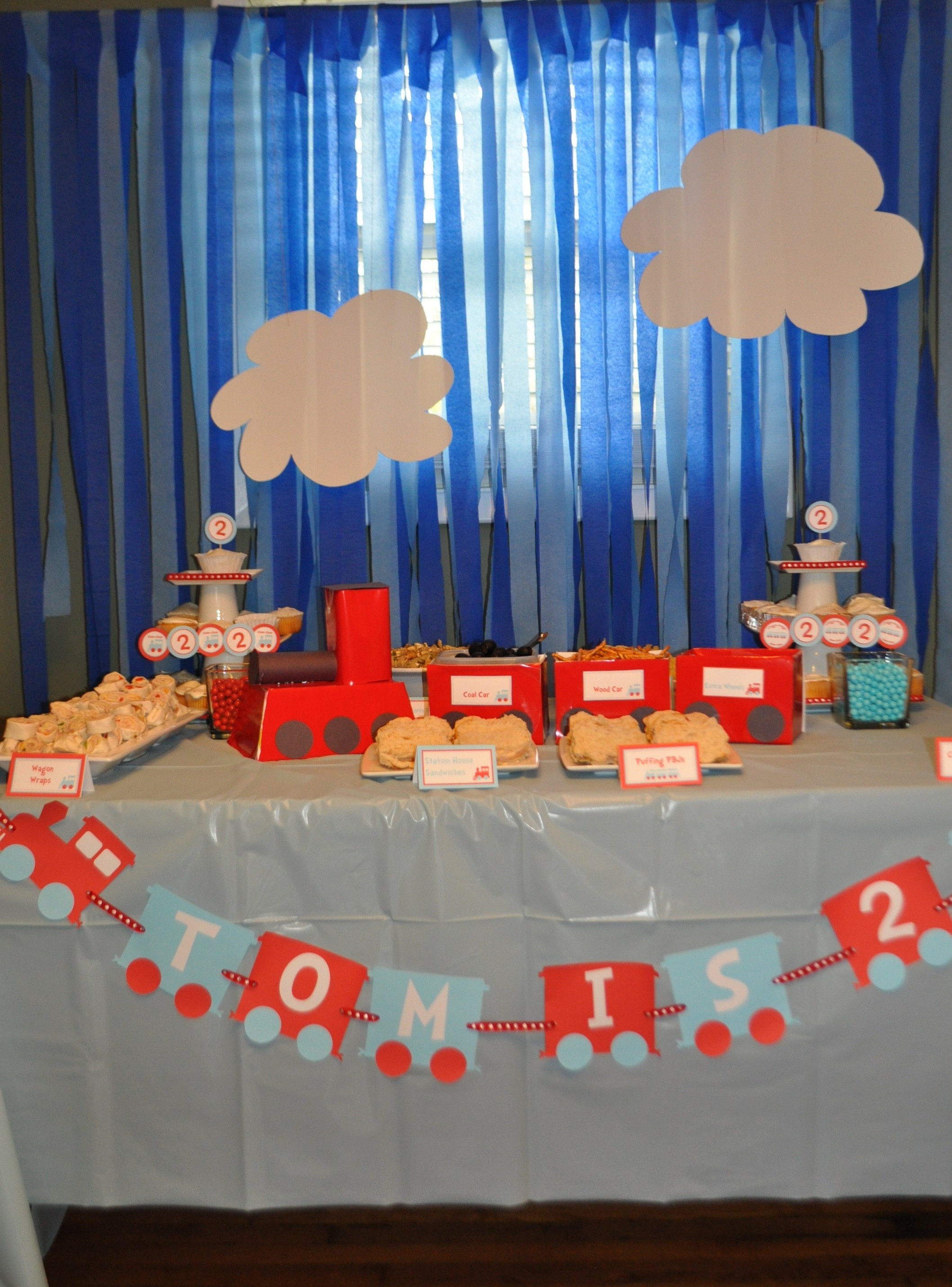 Best ideas about Train Birthday Decorations . Save or Pin The Making Tom's Train Themed 2nd Birthday Party Now.