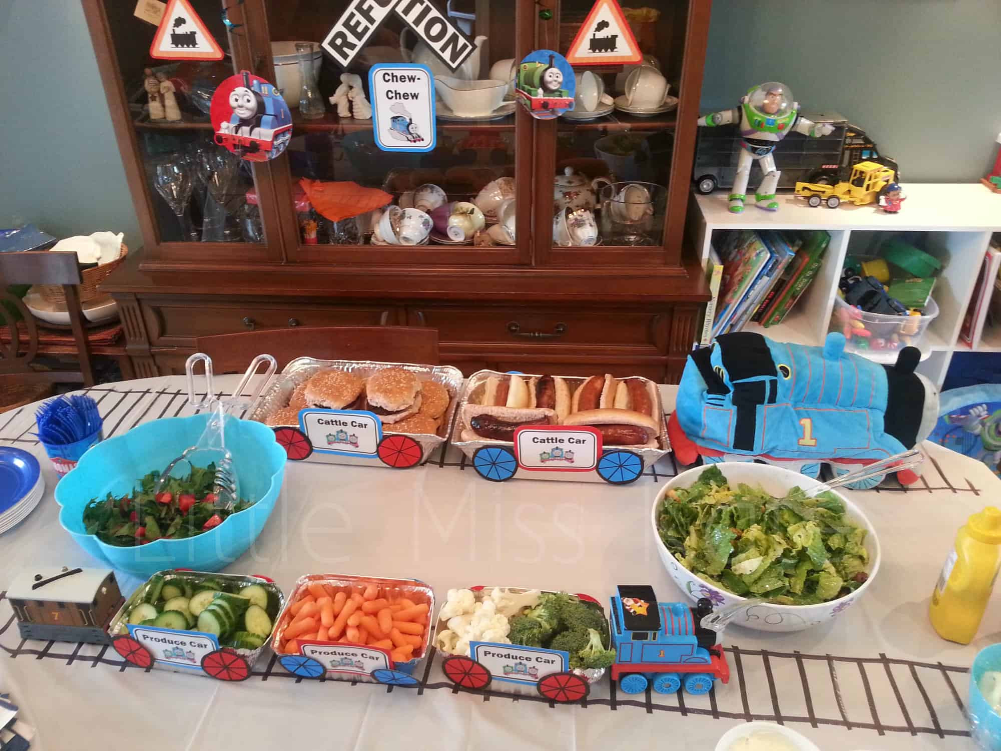 Best ideas about Train Birthday Decorations . Save or Pin Kids Birthday Party Ideas Thomas the Train Party Ideas Now.