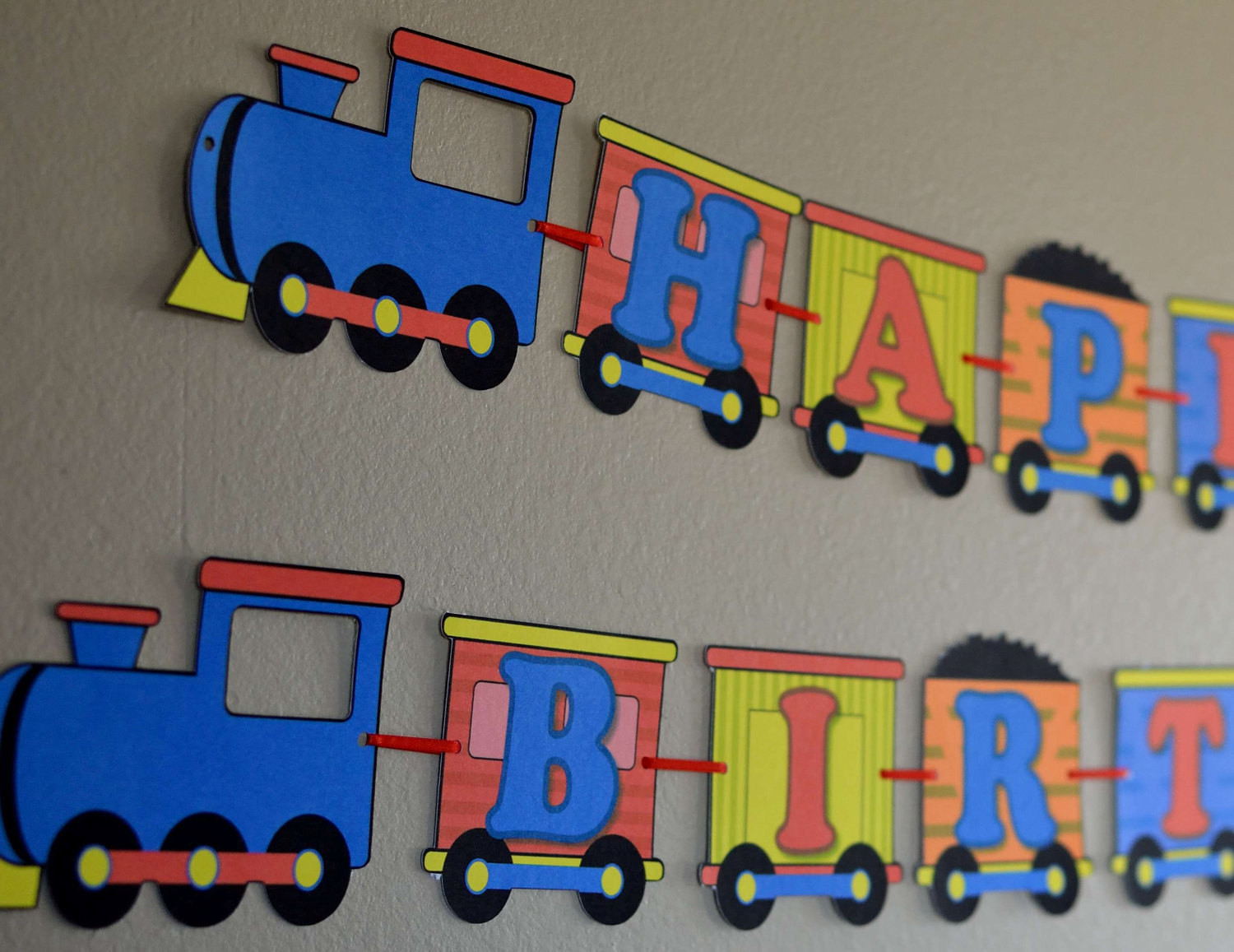 Best ideas about Train Birthday Decorations . Save or Pin Birthday Train Party Decorations Thomas the by bcpaperdesigns Now.