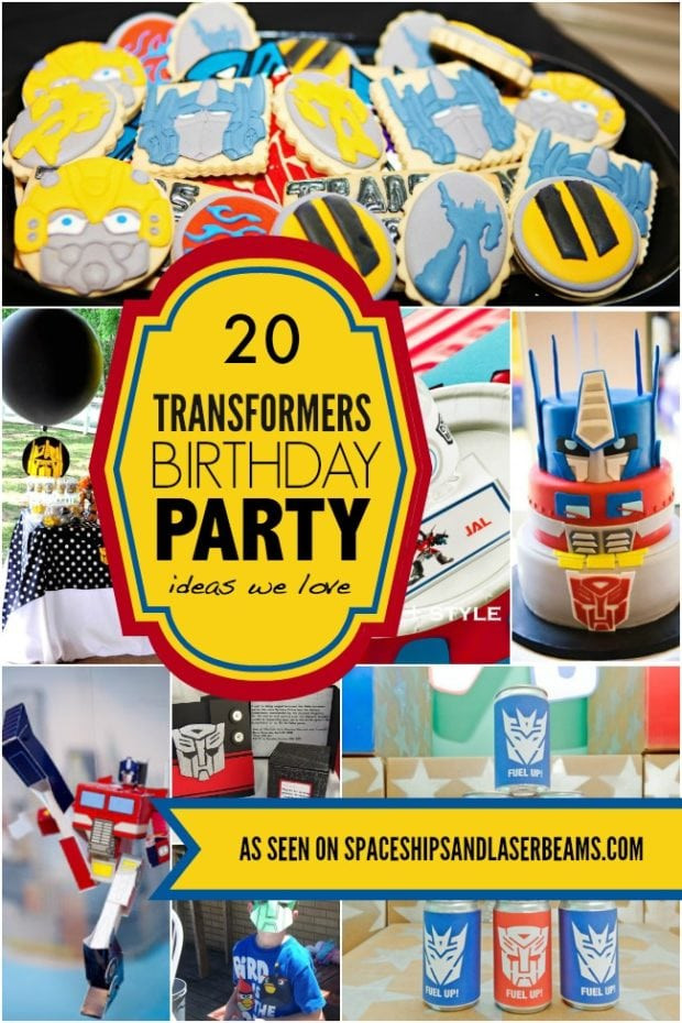 Best ideas about Transformers Birthday Party Ideas . Save or Pin 20 Transformers Birthday Party Ideas We Love Now.