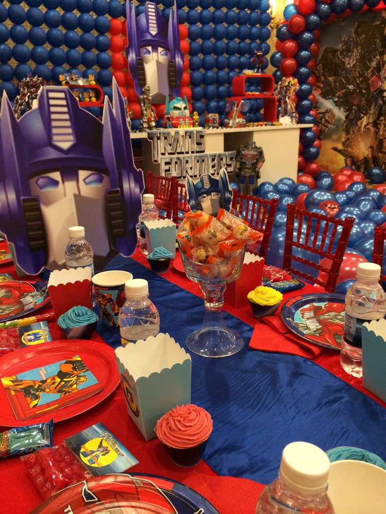 Best ideas about Transformers Birthday Party Ideas . Save or Pin Transformers Birthday Party Ideas 1 of 45 Now.