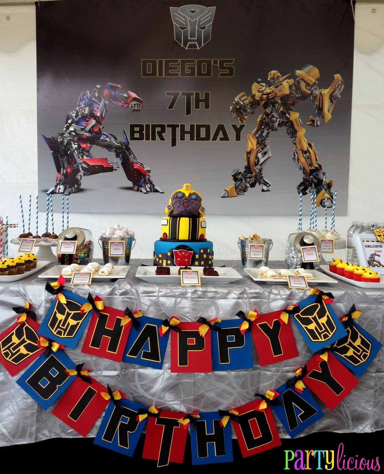 Best ideas about Transformers Birthday Party Ideas . Save or Pin Partylicious Events PR Transformers Birthday Bash Now.