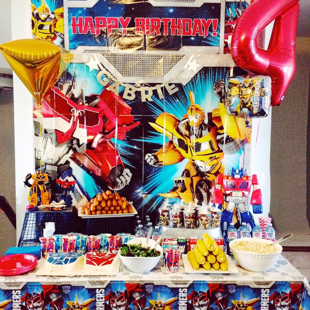 Best ideas about Transformers Birthday Party Ideas . Save or Pin Transformers Birthday Party Amidst the Chaos Now.
