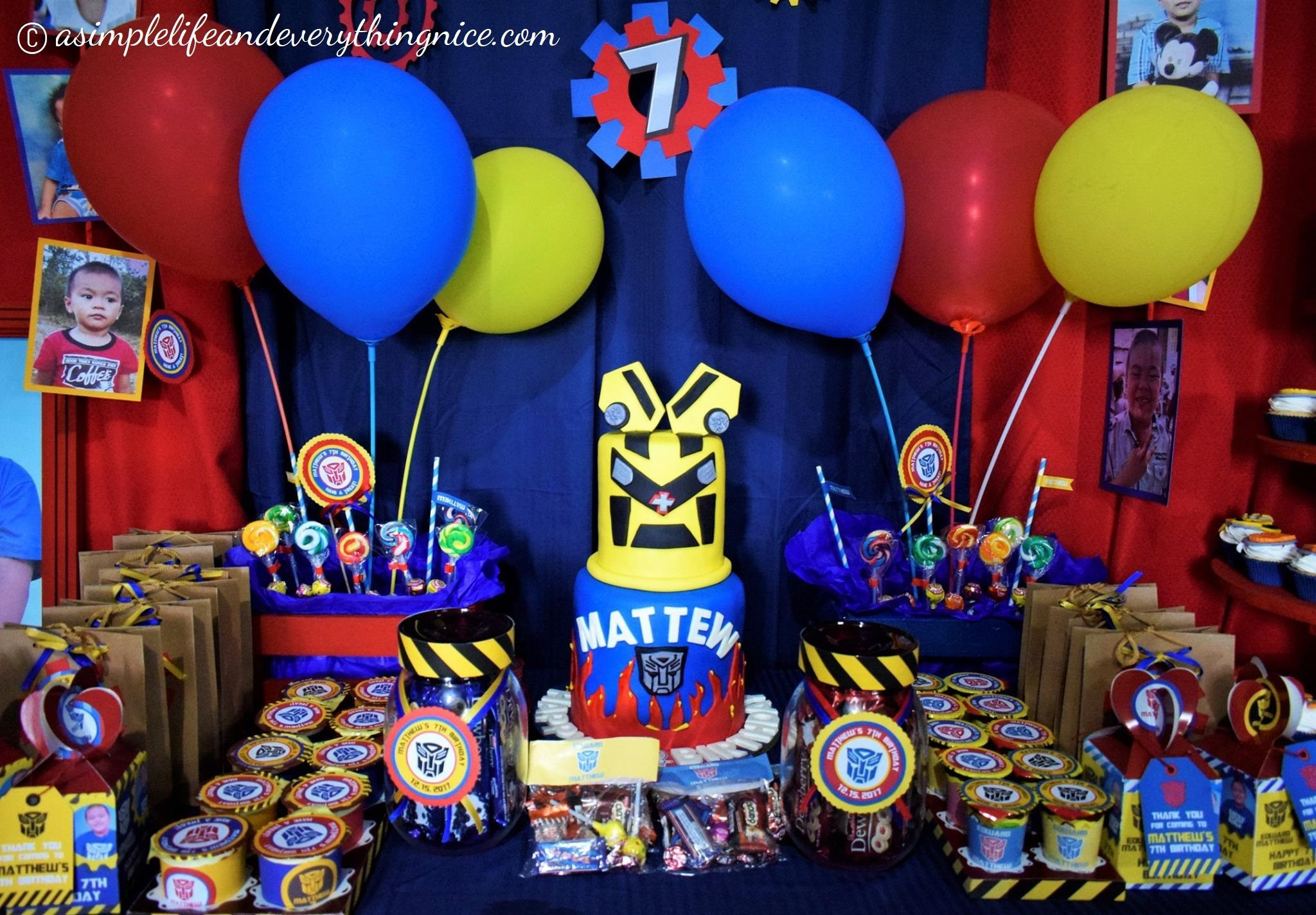 Best ideas about Transformers Birthday Party Ideas . Save or Pin Transformers Birthday Party Decorations a Bud Plus Now.