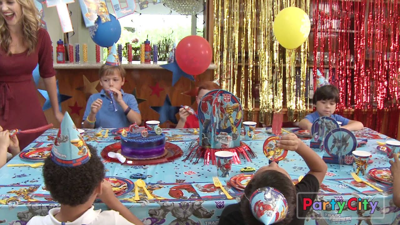 Best ideas about Transformers Birthday Party Ideas . Save or Pin Transformers Party Ideas Now.