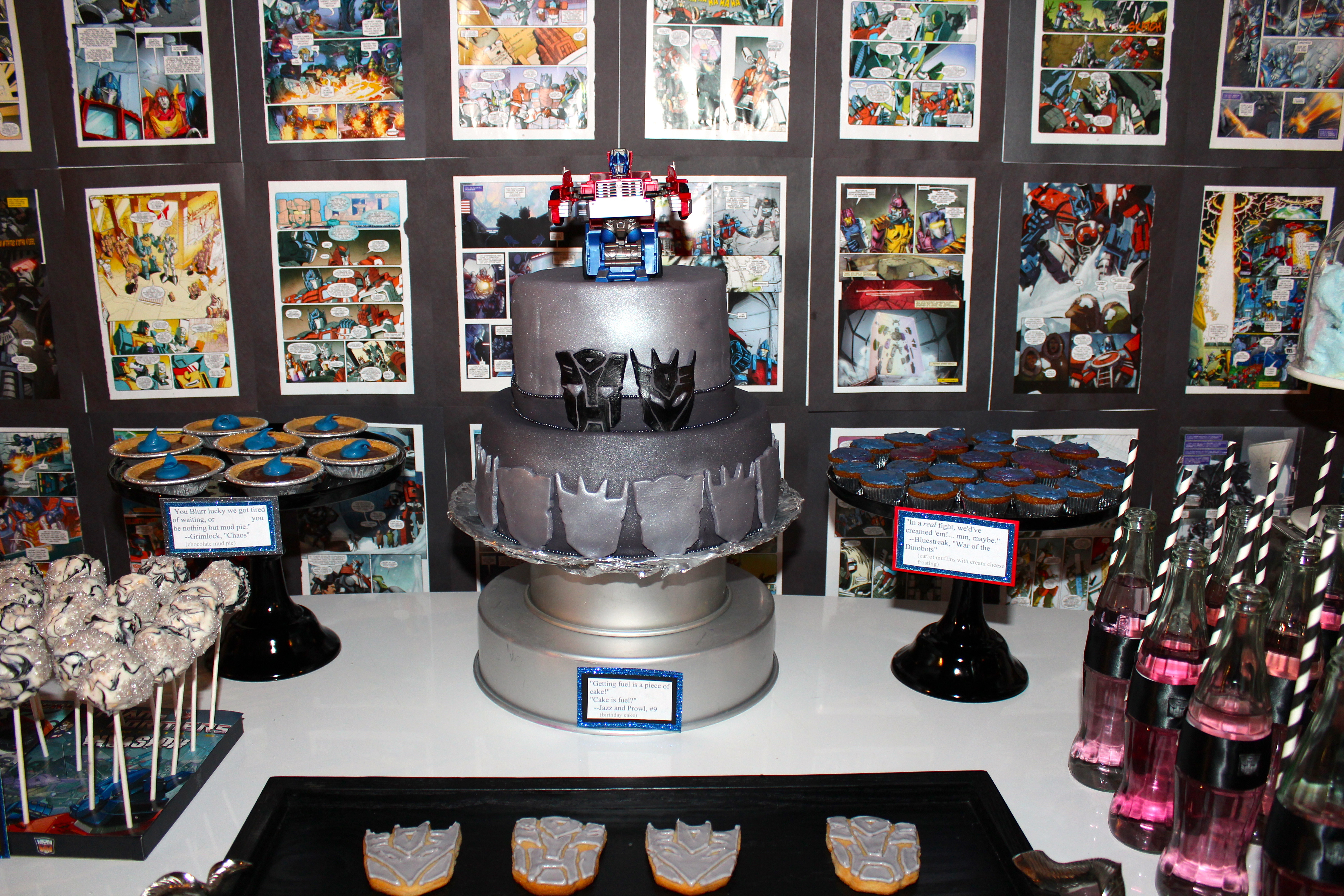 Best ideas about Transformers Birthday Party Ideas . Save or Pin Transformers Birthday Party Now.