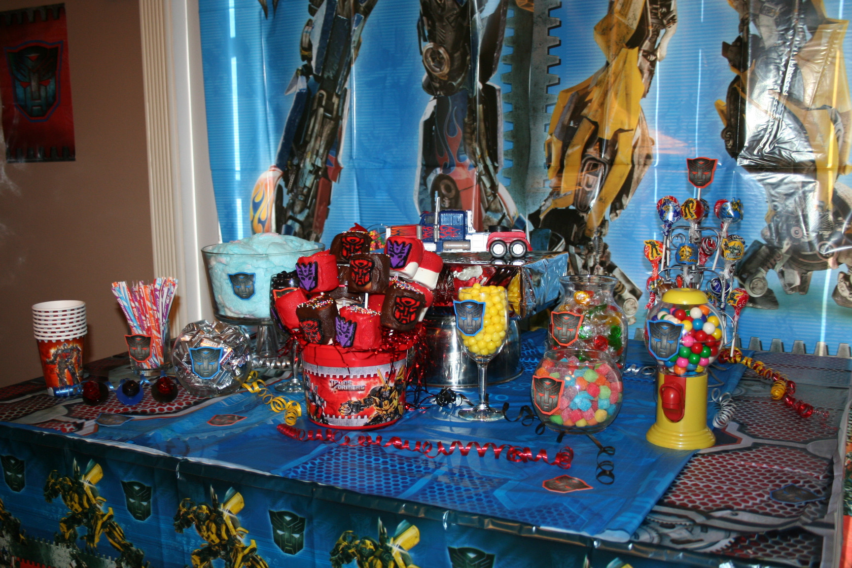 Best ideas about Transformers Birthday Party Ideas . Save or Pin Transformers Party Now.
