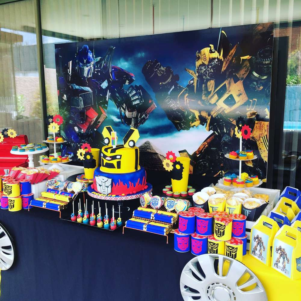 Best ideas about Transformers Birthday Party Ideas . Save or Pin Transformers Birthday Party Ideas 1 of 14 Now.