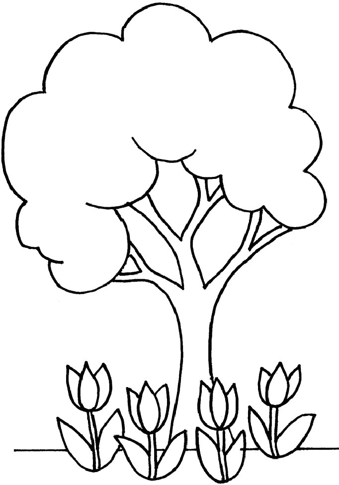 Best ideas about Tree Coloring Sheets For Kids . Save or Pin Tree Coloring Pages Dr Odd Now.