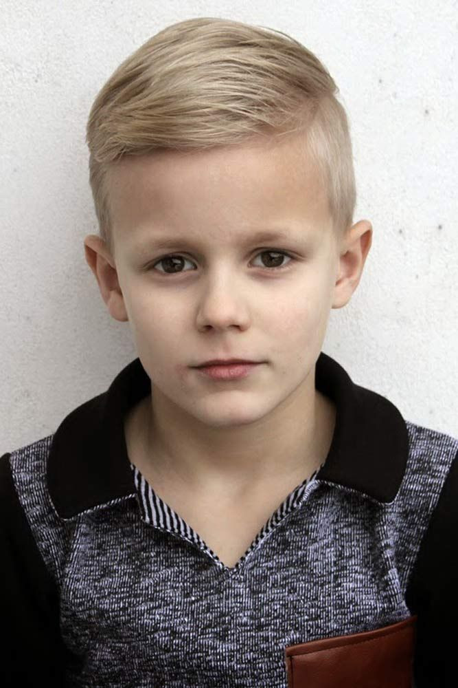 Best ideas about Trendy Hairstyles For Boys . Save or Pin 30 Trendy Boy Haircuts For Your Little Man Now.