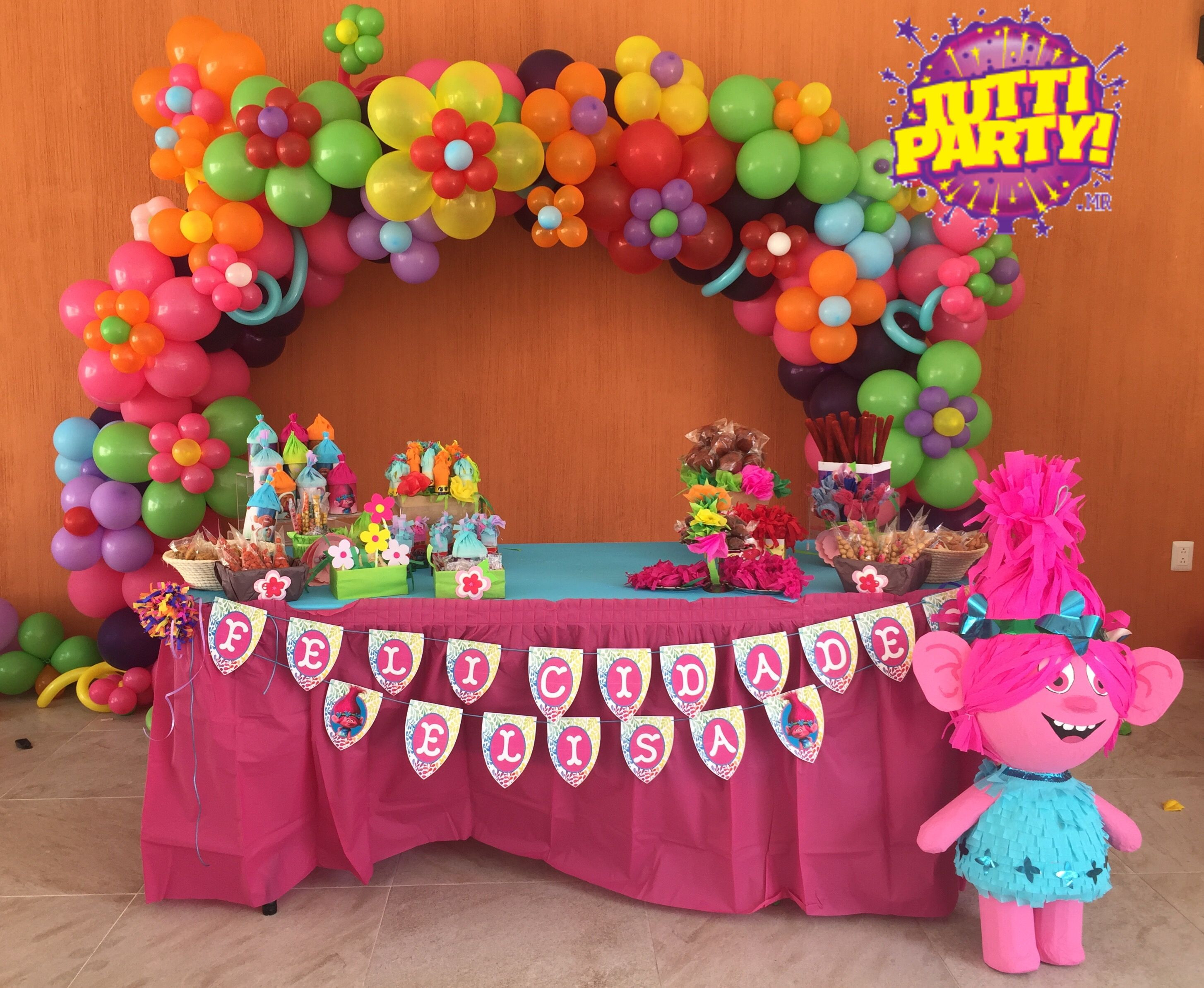 Best ideas about Troll Birthday Party . Save or Pin TROLLS PARTY IDEAS Now.
