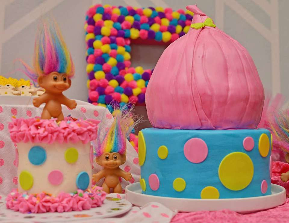 """Best ideas about Troll Birthday Party . Save or Pin Trolls Birthday """"Ellie s Troll Party """" Now."""