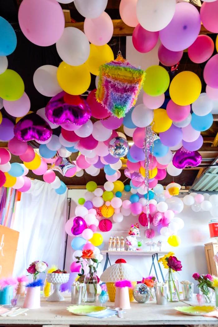 Best ideas about Troll Birthday Party . Save or Pin Kara s Party Ideas Rainbow Trolls Disco Birthday Party Now.