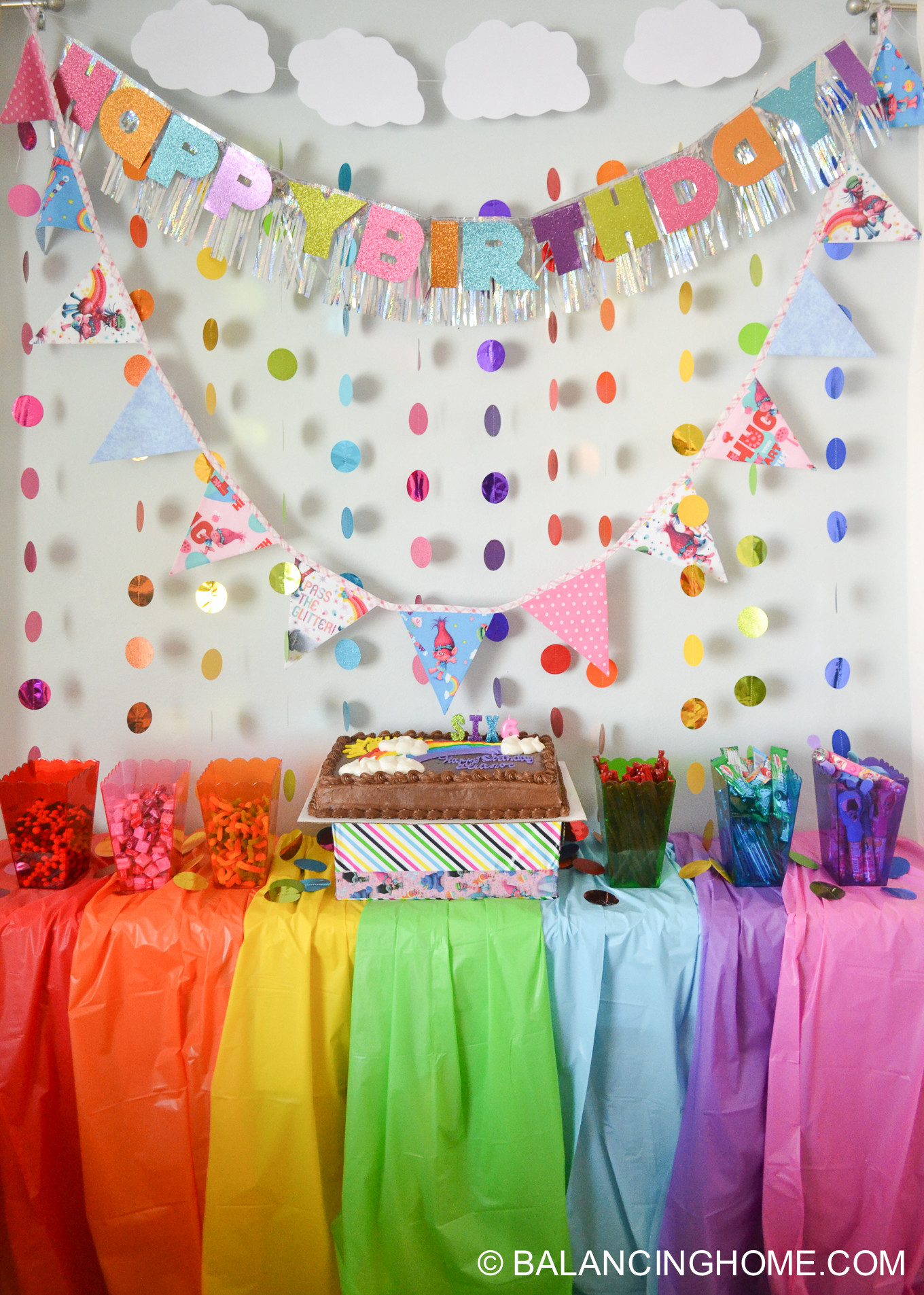Best ideas about Troll Birthday Party . Save or Pin Trolls Birthday Party Ideas for a Simple Trolls Themed Now.
