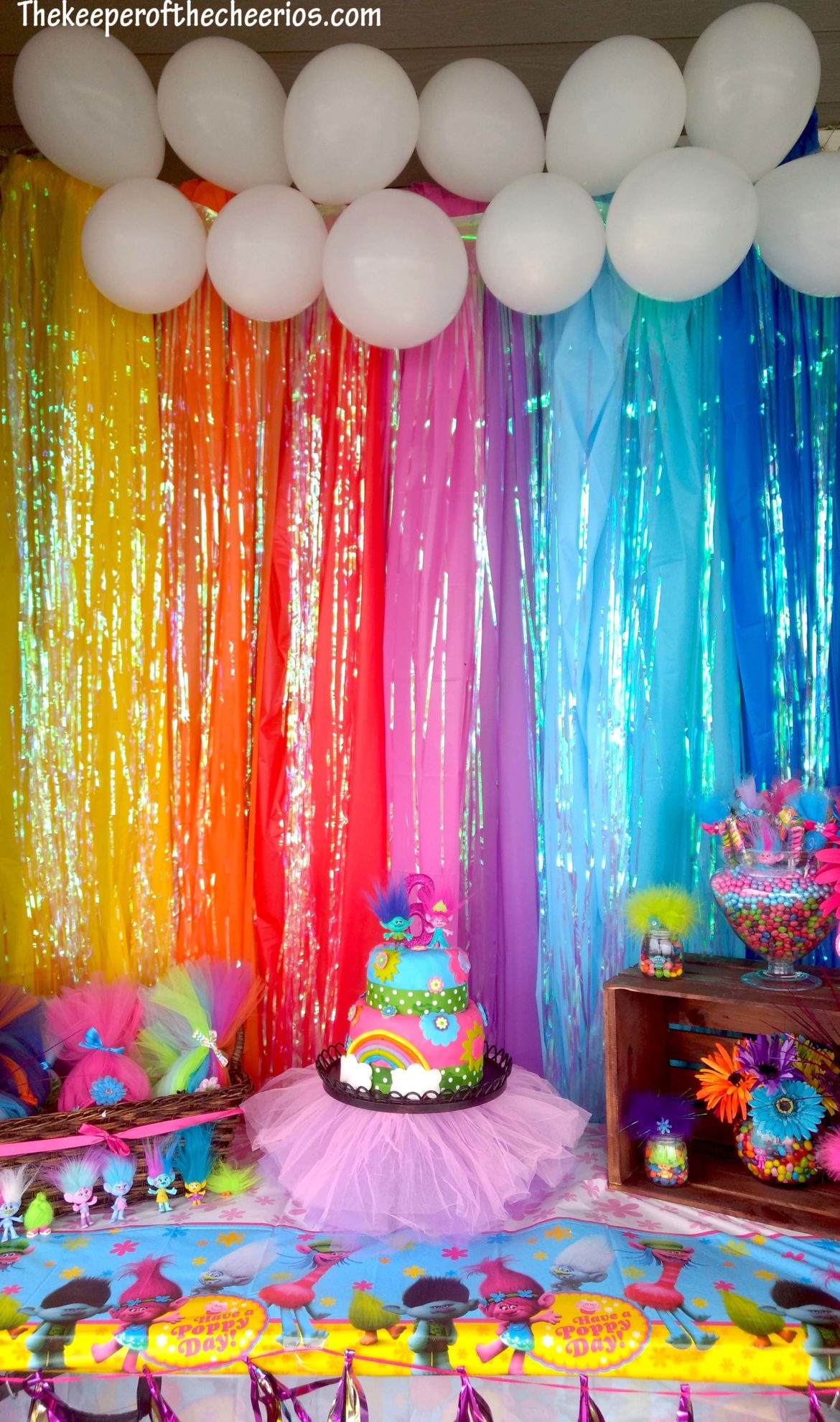 Best ideas about Trolls Birthday Decorations . Save or Pin Trolls Birthday Party The Keeper of the Cheerios Now.