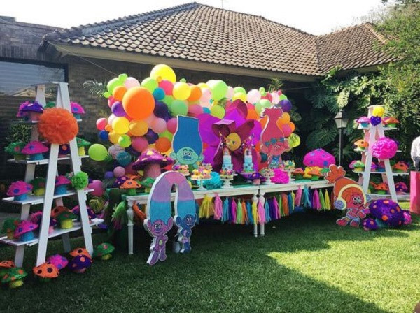 Best ideas about Trolls Birthday Decorations . Save or Pin Trolls Birthday Party Ideas for your Kid s Birthday party Now.