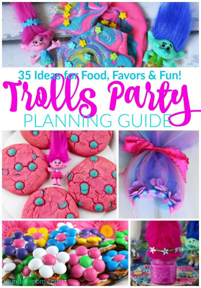 Best ideas about Trolls Birthday Decorations . Save or Pin Ultimate Trolls Birthday Party Planning Guide Now.
