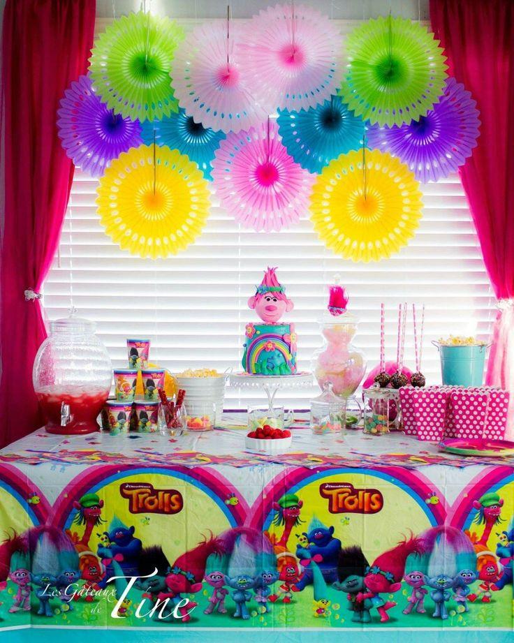Best ideas about Trolls Birthday Decorations . Save or Pin 1000 images about trolls birthday on Pinterest Now.