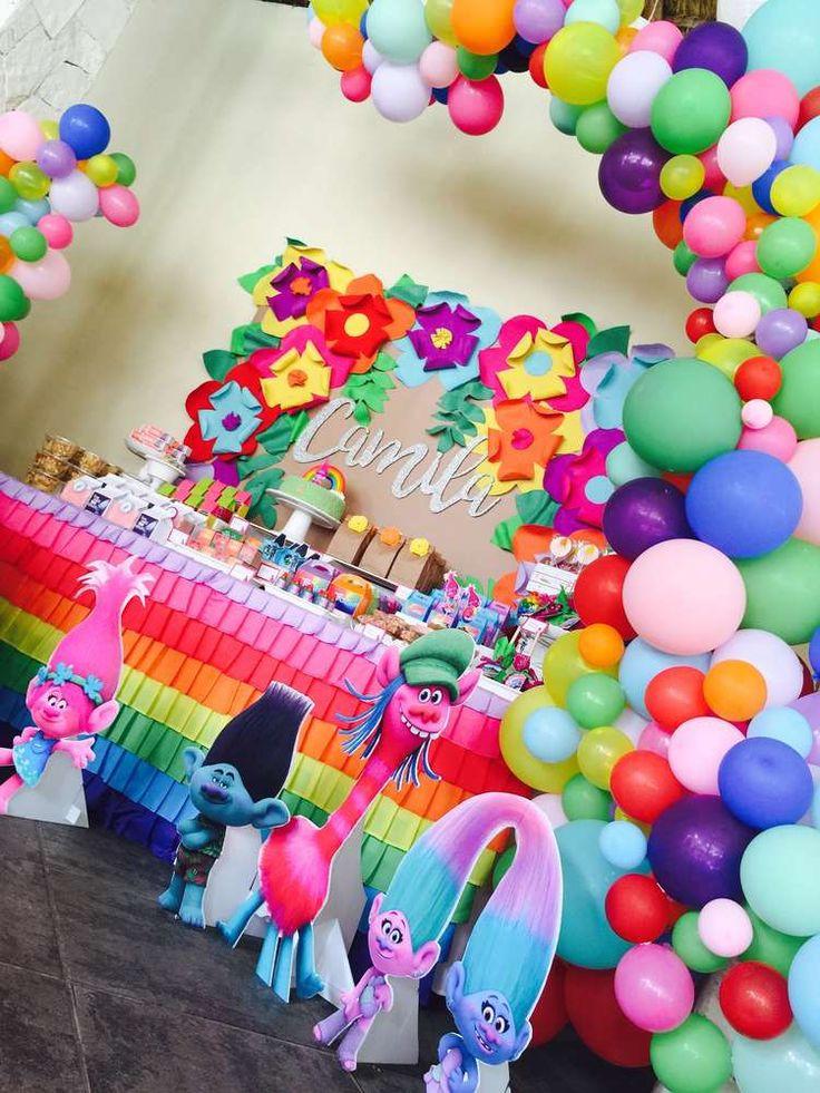 Best ideas about Trolls Birthday Decorations . Save or Pin 128 best Trolls Birthday Party Ideas images on Pinterest Now.