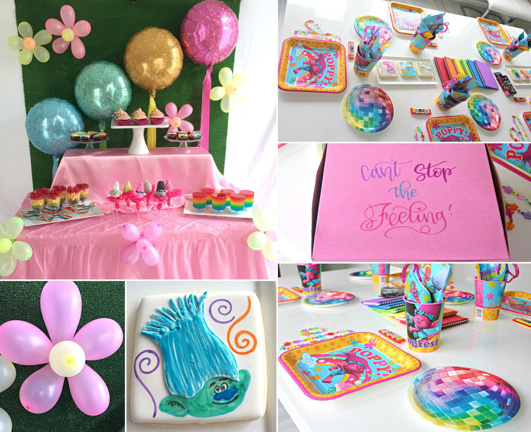 Best ideas about Trolls Birthday Decorations . Save or Pin Trolls Party Ideas Now.