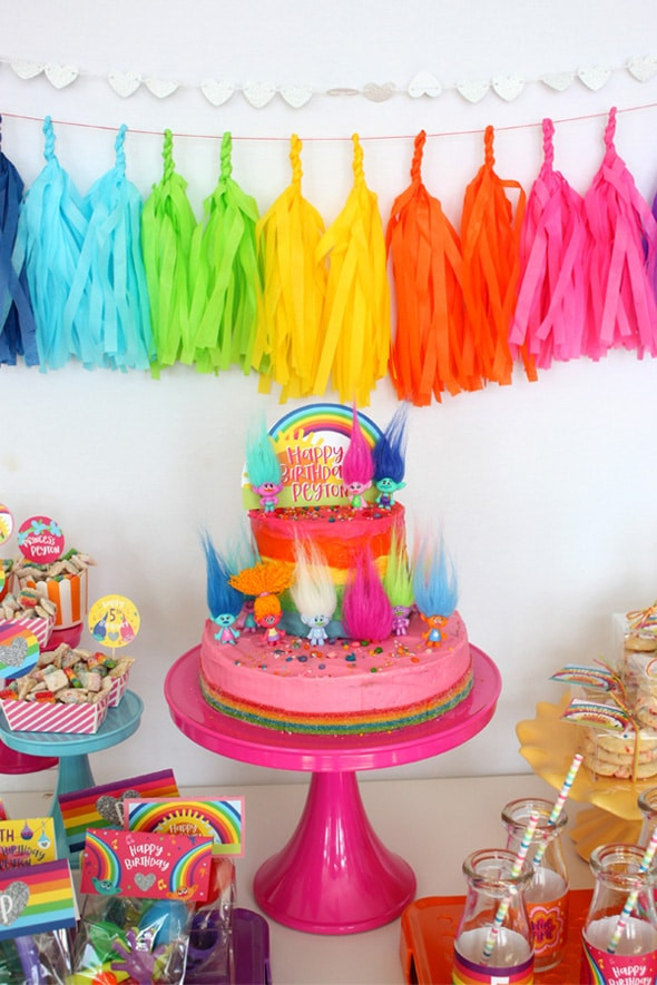 Best ideas about Trolls Birthday Decorations . Save or Pin 20 Terrific Trolls Party Ideas Pretty My Party Now.