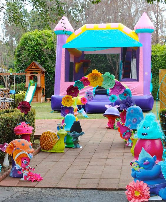 Best ideas about Trolls Birthday Decorations . Save or Pin 20 Terrific Trolls Party Ideas Pretty My Party Party Ideas Now.