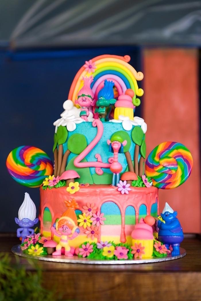 Best ideas about Trolls Birthday Decorations . Save or Pin Kara s Party Ideas Trolls Birthday Party Now.