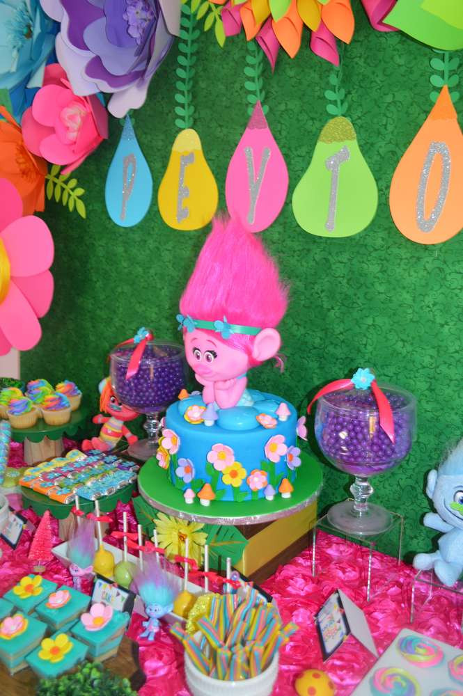 Best ideas about Trolls Birthday Decorations . Save or Pin 10 Amazing Trolls Party Ideas Mum s Lounge Now.