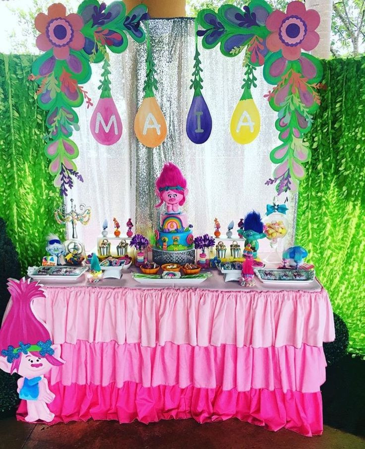 Best ideas about Trolls Birthday Decorations . Save or Pin 323 best Troll Princess Poppy images on Pinterest Now.
