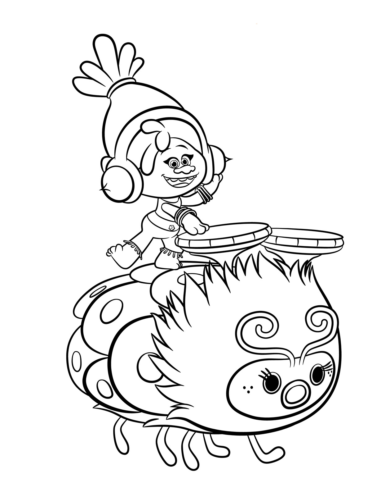 Best ideas about Trolls Free Printable Coloring Sheets . Save or Pin Trolls Coloring pages to and print for free Now.
