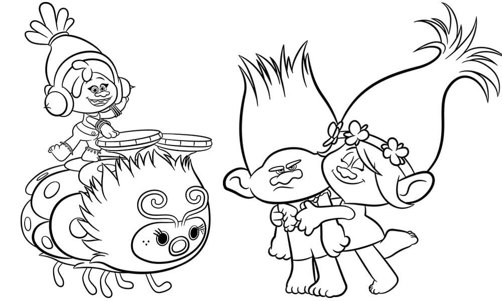 Best ideas about Trolls Free Printable Coloring Sheets . Save or Pin Trolls movie activity sheets Free printables colouring Now.