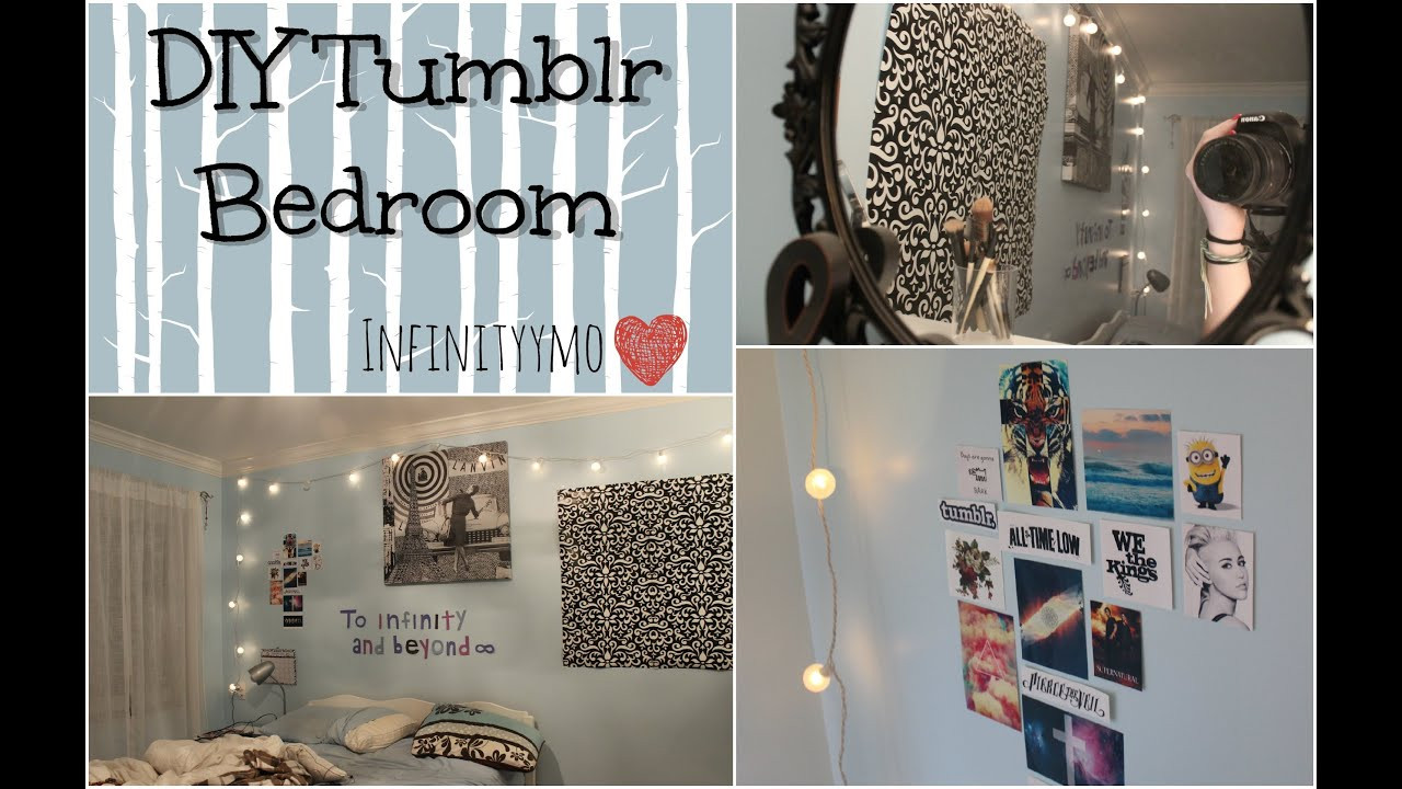 Best ideas about Tumblr DIY Rooms . Save or Pin DIY Tumblr Bedroom infinityymo Now.