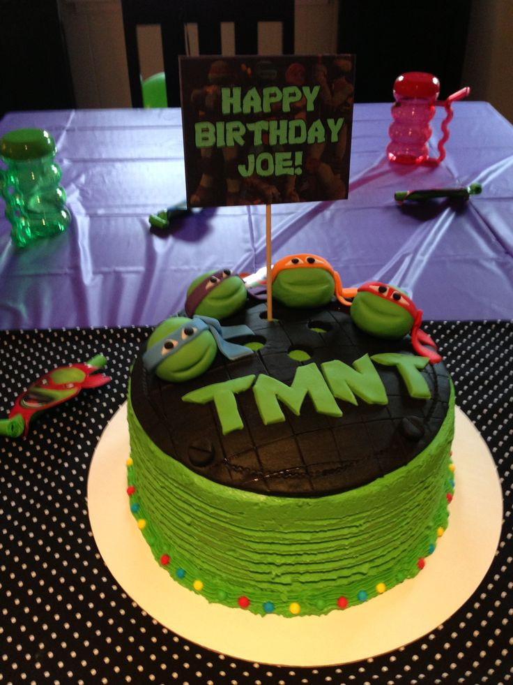 Best ideas about Turtle Birthday Cake . Save or Pin Best 25 Ninja turtle cakes ideas on Pinterest Now.